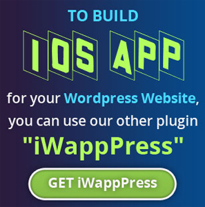 Create WordPress Android Mobile App Maker and Builder 5